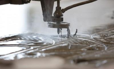 2d Wasserstrahlschneidetechnik Abrasiv-Verfahren