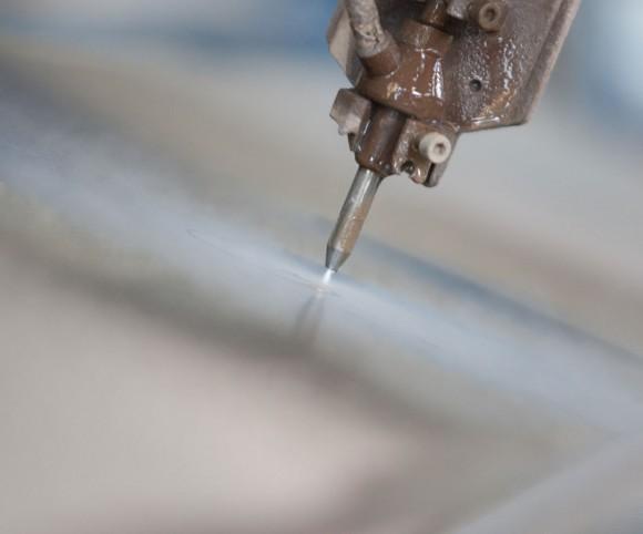 3d Wasserstrahlschneiden - Purverfahren