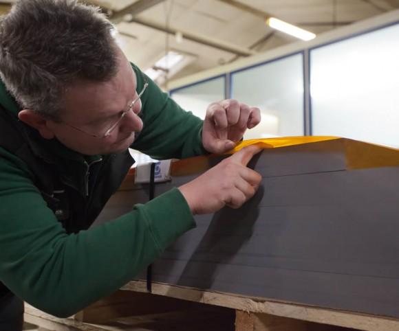 Verbundplatten mit Presstechnik - neue Materialien