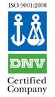 Zertifikat DNV nach ISO 9001:2008